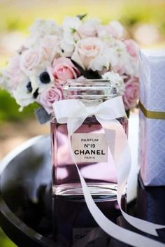 Change the number of the perfume according to your age, and walla! you got yourself a Coco Chanel inspired party.