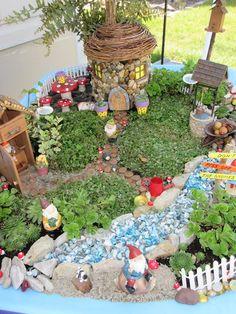Happy gnome home, in a wheelbarrow!