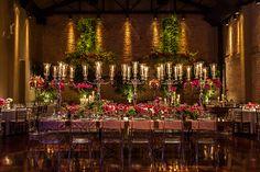 Esta decoração de casamento pink assinada por Roberta Fasano, uniu o clássico e o moderno. Confira as fotos!