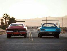 '69 Charger Daytona vs' 69 Plymouth Superbird