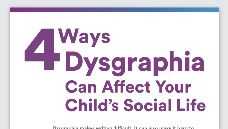 Graphic of 4 Ways Dysgraphia Can Affect Your Child's Social Life