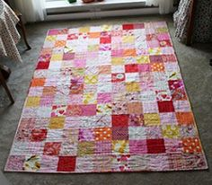 18 Easy Quilt Patterns for Beginners from @FaveQuilts