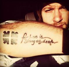 Mike's tattoo <33