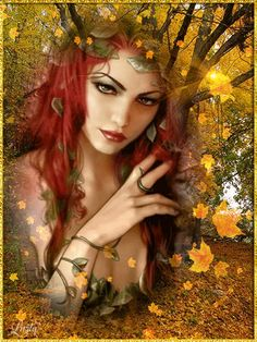 Images created in photoshop, Sqirlz water and morph Beautiful Gif, Beautiful Fairies, Fantasy Forest, Fantasy Girl, Amazing Gifs, Fairy Pictures, Angel Art, Fairy Art, Fantasy Artwork