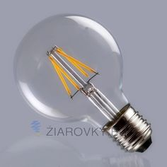 4 W LED Filament Ampoule Lampes Verre Clair V Filament Ampoules lumiè Led Filament, Led Lamp, W 6, Shinee, Clear Glass, Light Bulb, Lights, Products, Everything