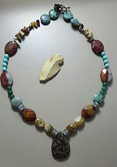 Colorful Shades of Native America Necklace