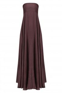 Wine Linen Tube Dress #bhumkasharma #shopnow #ppus #happyshopping