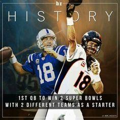 Peyton Manning making history