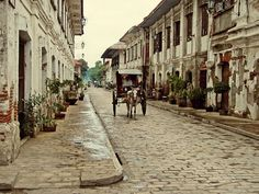 the closest we can get to time travel. #vigan #philippines #travel