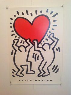 Hodesh : Keith Haring Poster