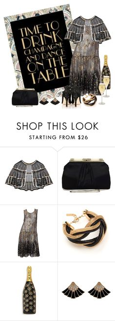 """New Year's Eve Party"" by shelley-harcar ❤ liked on Polyvore featuring Judith Leiber, Emmy London and Marc Jacobs"