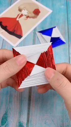 Diy Crafts Hacks, Diy Crafts For Gifts, Diy Arts And Crafts, Diy Crafts Videos, Creative Crafts, Creative Ideas, Cool Paper Crafts, Paper Crafts Origami, Diy Paper