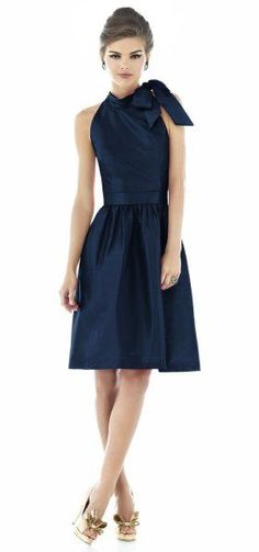 Love this navy Ralph Lauren dress!