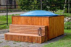 Badefass Pool Außenheizung + Abdeckung Outdoor Sauna, Indoor Outdoor, Outdoor Decor, Sauna Kits, Outdoor Storage, Outdoor Furniture, Home Decor, Stairway, Decoration Home