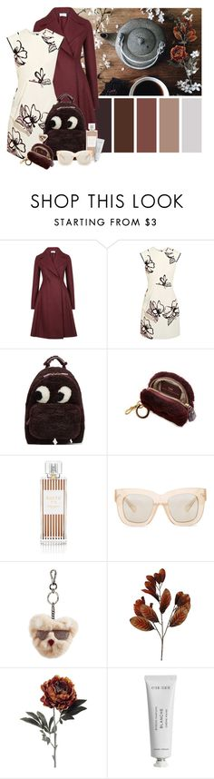 """""""Teapot"""" by cherieaustin ❤ liked on Polyvore featuring Harris Wharf London, Roland Mouret, Anya Hindmarch, Henri Bendel, Acne Studios, Karl Lagerfeld, PEONY and Byredo"""