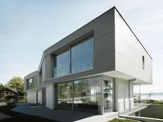 Bardage en béton fibré / lisse / en panneau - CONCRETE SKIN - IVORY - Rieder Smart Elements GmbH