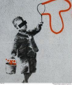 Galleries - Street Art - Banksy Art - Banksy - 'Tox' - Fubiz™