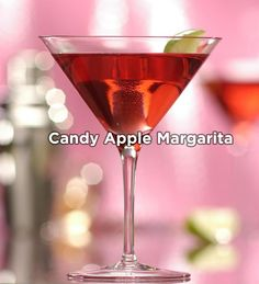 Candy Apple Margarita (make it with Sauza®  Blue!) #recipes