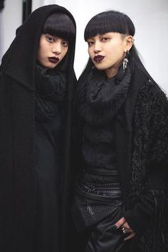 Post-Apocalyptic Fashion : Photo Aya Sato and bambi