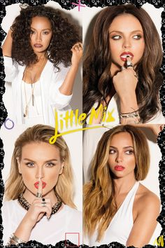 Little Mix being pretty as usual
