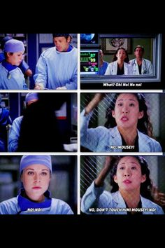 I think its funny how Cristina never called her interns by their real names.