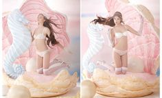 Local Lingerie Maker Boudoir by Disaya Reveals 'Bridal Collection' ---- I have to figure out how to make a shell like this