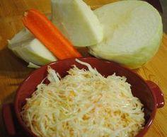 Zelný salát skřenem - šéfkuchař blog