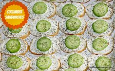 Cucumber Sandwiches are an amazing and addictive appetizer that are perfect for any occasion, and always a crowd pleaser!