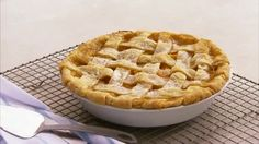 How to Make a Woven Lattice-Top Pie Get a gorgeous lattice-top pie—we show you how! From rolling and cutting the dough to carefully weaving the strips, this method ensures you'll have a beautiful pie presentation every time.