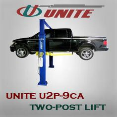 Twin Post Auto Lift - 9000 lb Capacity Two Post Lift, Auto Lift, Man Cave Homes, Lifted Cars, Twin, Workshop, Gym, Atelier, Work Shop Garage