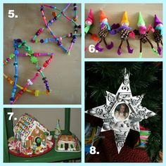 * Top 25 Ultimate Christmas Kid-Friendly Craft and Winter Craft Round-Up: Favorite Christmas Crafts and Activities from Pink and Green Mama Blog