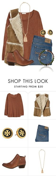""""""""""" by flroasburn ❤ liked on Polyvore featuring H&M, Hollister Co., Tory Burch, Abercrombie & Fitch, Lucky Brand and J.Crew"""
