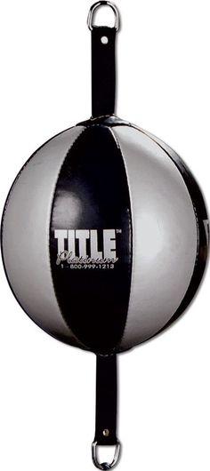 TITLE PLATINUM DOUBLE END BAG boxing muay thai MMA technique target practice #TITLEBoxing