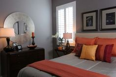 Grey Bedrooms Design, Pictures, Remodel, Decor and Ideas - page 3