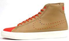 beige and orange