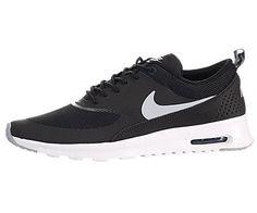 Nike Women's Air Max Thea Black/Wolf Grey/Anthrct/White Running Shoe 10 Women US - http://buyonlinemakeup.com/nike/10-b-m-us-nike-womens-air-max-thea-black-wolf-grey-6-5