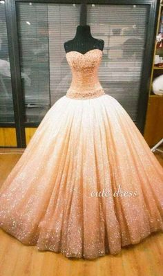 awesome Custom made sequin long ball gown prom dress, evening dress from cutedress