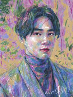 EXO's leader Suho will make his solo debut on March Yesterday they released one teaser photo, and today four more. As the title of his debut is Self-Portrait, the teaser photos actually look like Suho Exo, Exo Ot12, K Pop, Exo Album, Exo Fan Art, Shared Folder, Kim Junmyeon, Mamamoo, Vestidos