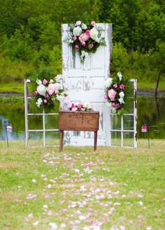 Suffolk, Virginia Shabby Chic Wedding by Style by Design, www.sbdva.com