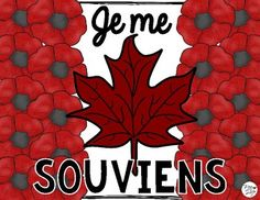 Remembrance Day Poppy Flag Craft and Printables - Jour du Souvenir