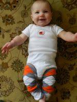 DIY Baby Leggings!!!! ... Super easy!