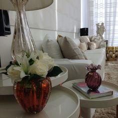 Adorno: vasos de Murano. @ligiaenicollearquitetura