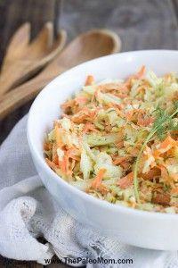 Do kapustovo - mrkvového základu pridať: paleo majonézu, horčicu, kurkumu, papriku, jablčný ocot, kôpor