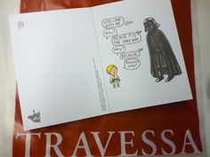 Darth Vader and son - 30 postcards - by Jeffrey Brown