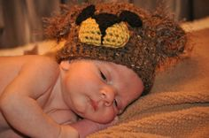 Items similar to Crochet Fuzzy Wuzzy Bear Hat with matching Diaper Cover - newborn to 12 month size - MADE TO ORDER on Etsy Fuzzy Wuzzy, Beanie, Trending Outfits, Unique Jewelry, Handmade Gifts, Children, Crochet, Hats, Photography