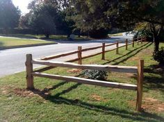 Split Rail Fencing Examples (click to enlarge)