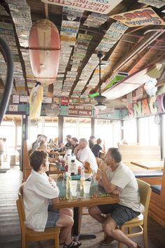 12 Best Florida Beach Bars   High Tides at Snack Jack   Flagler Beach
