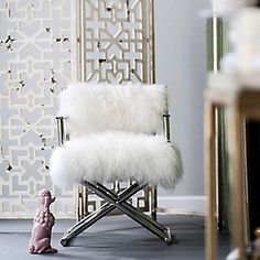 Wildau Accent Chair   Ashley Furniture HomeStore Big Girl Rooms, At Home Store, Toss Pillows, Director's Chair, Living Room Chairs, Accent Chairs, Fur Chairs, Lucite Chairs, Furniture