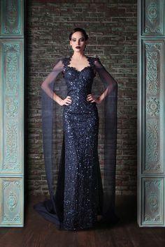"Rami Kadi, ""Le gala des mystères"", Fall 2013 Couture  (Source: fashioncurrents.com)"