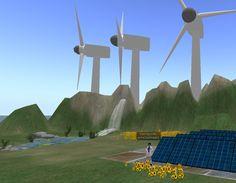 Energies Renovables a Virtual Touch 2 OpenSim Educatiu. Móns 3D
